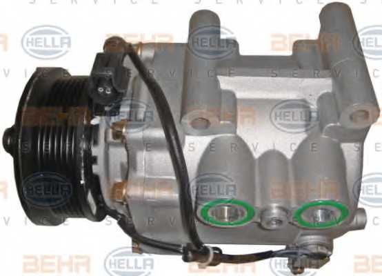 Компрессор кондиционера для FORD MONDEO(B4Y,B5Y,BWY), TRANSIT <b>HELLA BEHR SERVICE Version ALTERNATIVE 8FK 351 113-901</b> - изображение 3