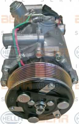 Компрессор кондиционера для HONDA CR(RE) <b>HELLA BEHR SERVICE Version ALTERNATIVE 8FK 351 121-541</b> - изображение 1