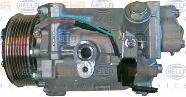 Компрессор кондиционера для HONDA CR(RE) <b>HELLA BEHR SERVICE Version ALTERNATIVE 8FK 351 121-541</b> - изображение 3