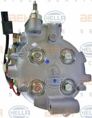Компрессор кондиционера для HONDA CIVIC(FA, FK,FD,FN) <b>HELLA BEHR SERVICE Version ALTERNATIVE 8FK 351 121-551</b> - изображение 2