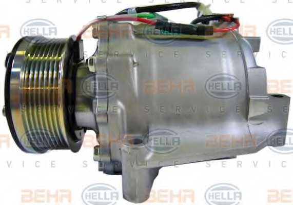 Компрессор кондиционера для HONDA CIVIC(FA, FK,FD,FN) <b>HELLA BEHR SERVICE Version ALTERNATIVE 8FK 351 121-551</b> - изображение 3
