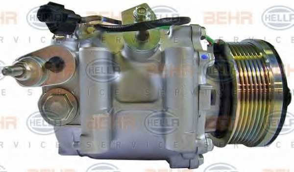 Компрессор кондиционера для HONDA CIVIC(FA, FK,FD,FN) <b>HELLA BEHR SERVICE Version ALTERNATIVE 8FK 351 121-551</b> - изображение 4