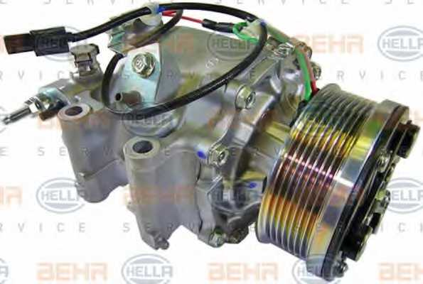 Компрессор кондиционера для HONDA CIVIC(FA, FK,FD,FN) <b>HELLA BEHR SERVICE Version ALTERNATIVE 8FK 351 121-551</b> - изображение 5