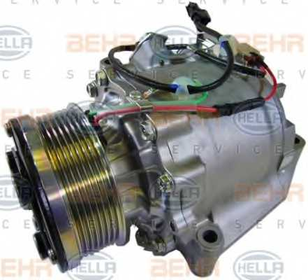 Компрессор кондиционера для HONDA CIVIC(FA, FK,FD,FN) <b>HELLA BEHR SERVICE Version ALTERNATIVE 8FK 351 121-551</b> - изображение 6