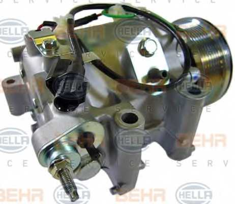 Компрессор кондиционера для HONDA CIVIC(FA, FK,FD,FN) <b>HELLA BEHR SERVICE Version ALTERNATIVE 8FK 351 121-551</b> - изображение 8