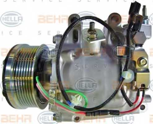 Компрессор кондиционера для HONDA CIVIC(FA, FK,FD,FN) <b>HELLA BEHR SERVICE Version ALTERNATIVE 8FK 351 121-551</b> - изображение