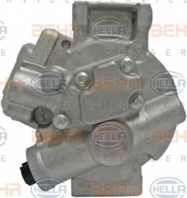 Компрессор кондиционера для TOYOTA AURIS, AVENSIS, COROLLA, VERSO <b>HELLA BEHR SERVICE Version ALTERNATIVE 8FK 351 125-651</b> - изображение 2