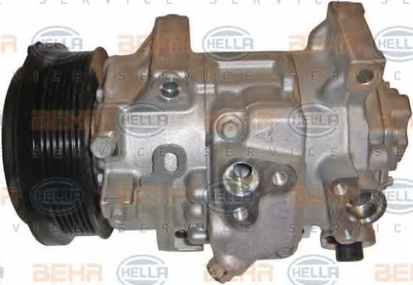 Компрессор кондиционера для TOYOTA AURIS, AVENSIS, COROLLA, VERSO <b>HELLA BEHR SERVICE Version ALTERNATIVE 8FK 351 125-651</b> - изображение 3