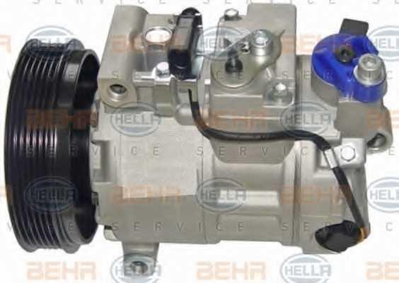 Компрессор кондиционера для AUDI A4, A5, A6, Q5 <b>HELLA BEHR SERVICE Version ALTERNATIVE 8FK 351 125-661</b> - изображение