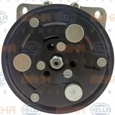 Компрессор кондиционера для AUDI A3, TT / FORD GALAXY / SKODA OCTAVIA / VW BORA, CADDY, GOLF, NEW BEETLE, POLO, SHARAN <b>HELLA BEHR SERVICE 8FK 351 125-751</b> - изображение 1