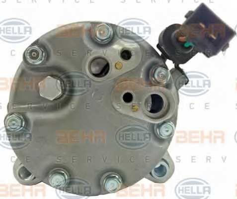 Компрессор кондиционера для AUDI A3, TT / FORD GALAXY / SKODA OCTAVIA / VW BORA, CADDY, GOLF, NEW BEETLE, POLO, SHARAN <b>HELLA BEHR SERVICE 8FK 351 125-751</b> - изображение 2