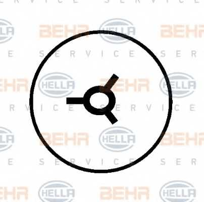 Компрессор кондиционера для RENAULT CLIO, KANGOO, KANGOO Express, THALIA <b>HELLA BEHR SERVICE Version ALTERNATIVE 8FK 351 127-901</b> - изображение 4