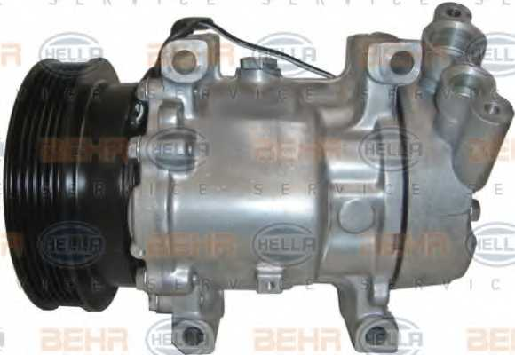 Компрессор кондиционера для RENAULT CLIO, KANGOO, KANGOO Express, THALIA <b>HELLA BEHR SERVICE Version ALTERNATIVE 8FK 351 127-901</b> - изображение