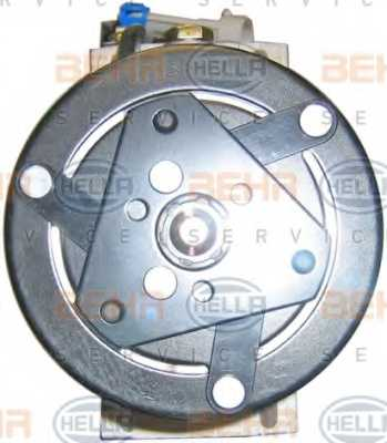 Компрессор кондиционера для OPEL ASTRA(F08#, F07#, F35#, F48#, F69#, F70) <b>HELLA BEHR SERVICE Version ALTERNATIVE 8FK 351 134-591</b> - изображение 1