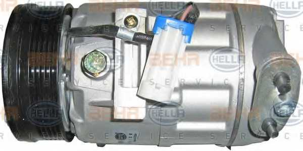 Компрессор кондиционера для OPEL ASTRA(F08#, F07#, F35#, F48#, F69#, F70) <b>HELLA BEHR SERVICE Version ALTERNATIVE 8FK 351 134-591</b> - изображение 3