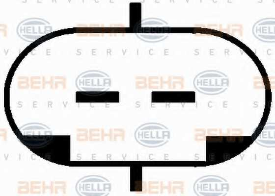 Компрессор кондиционера для OPEL ASTRA(F08#, F07#, F35#, F48#, F69#, F70) <b>HELLA BEHR SERVICE Version ALTERNATIVE 8FK 351 134-591</b> - изображение 6