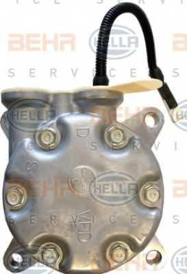 Компрессор кондиционера для PEUGEOT 206(2A/C,2D,2E/K) <b>HELLA BEHR SERVICE Version ALTERNATIVE 8FK 351 134-661</b> - изображение 2