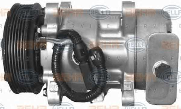 Компрессор кондиционера для PEUGEOT 206(2A/C,2D,2E/K) <b>HELLA BEHR SERVICE Version ALTERNATIVE 8FK 351 134-661</b> - изображение 6