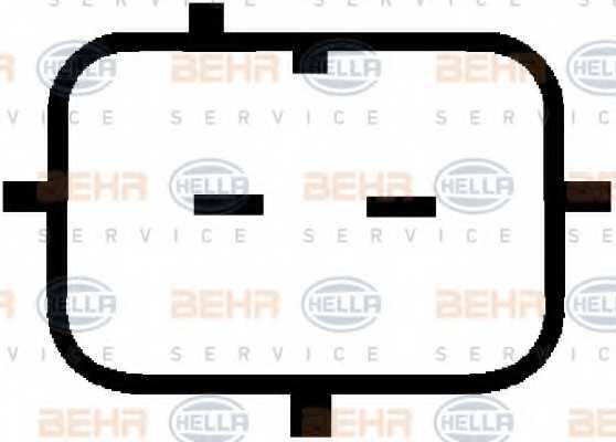 Компрессор кондиционера для PEUGEOT 206(2A/C,2D,2E/K) <b>HELLA BEHR SERVICE Version ALTERNATIVE 8FK 351 134-661</b> - изображение 7