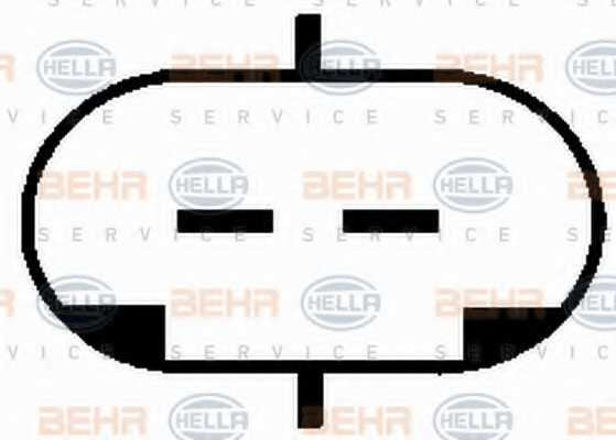 Компрессор кондиционера для HOLDEN BARINA, TIGRA / OPEL ASTRA, COMBO, CORSA, MERIVA, TIGRA TwinTop <b>HELLA BEHR SERVICE Version ALTERNATIVE 8FK 351 134-761</b> - изображение 5