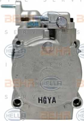 Компрессор кондиционера для HYUNDAI SANTA FE(SM) <b>HELLA BEHR SERVICE 8FK 351 273-121</b> - изображение 2