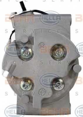 Компрессор кондиционера для HONDA JAZZ(GD) <b>HELLA BEHR SERVICE Version ALTERNATIVE 8FK 351 322-941</b> - изображение 2
