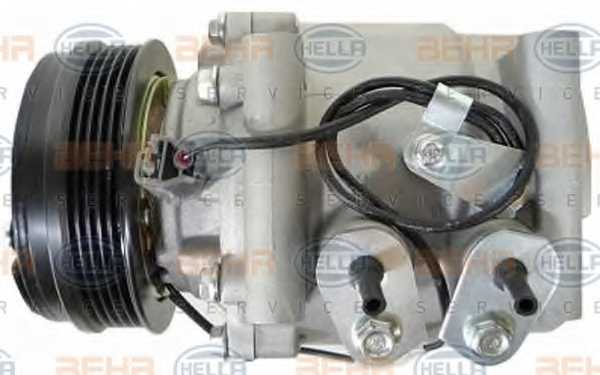 Компрессор кондиционера для HONDA JAZZ(GD) <b>HELLA BEHR SERVICE Version ALTERNATIVE 8FK 351 322-941</b> - изображение 3