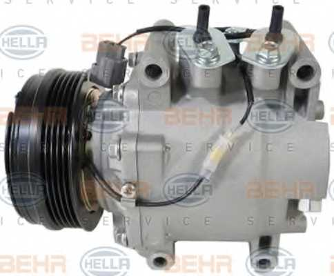Компрессор кондиционера для HONDA JAZZ(GD) <b>HELLA BEHR SERVICE Version ALTERNATIVE 8FK 351 322-941</b> - изображение