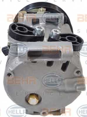 Компрессор кондиционера для FORD TRANSIT <b>HELLA BEHR SERVICE Version ALTERNATIVE 8FK 351 334-531</b> - изображение 1