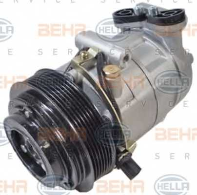 Компрессор кондиционера для FORD TRANSIT <b>HELLA BEHR SERVICE Version ALTERNATIVE 8FK 351 334-531</b> - изображение 2