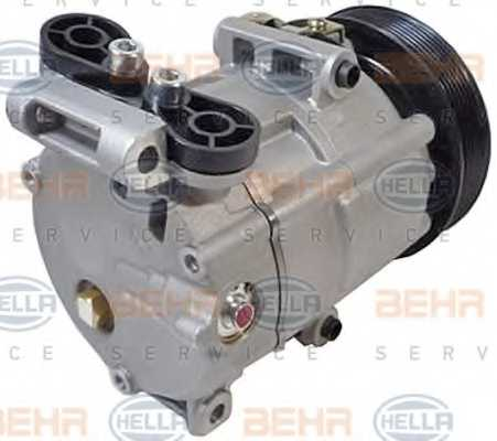Компрессор кондиционера для FORD TRANSIT <b>HELLA BEHR SERVICE Version ALTERNATIVE 8FK 351 334-531</b> - изображение 3