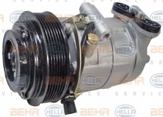Компрессор кондиционера для FORD TRANSIT <b>HELLA BEHR SERVICE Version ALTERNATIVE 8FK 351 334-531</b> - изображение