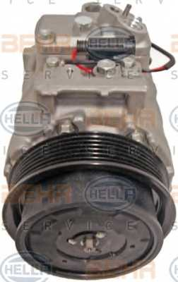 Компрессор кондиционера для MERCEDES GL(X164), M(W164), R(V251,W251) <b>HELLA BEHR SERVICE Version ALTERNATIVE 8FK 351 340-901</b> - изображение 1