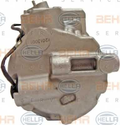 Компрессор кондиционера для MERCEDES GL(X164), M(W164), R(V251,W251) <b>HELLA BEHR SERVICE Version ALTERNATIVE 8FK 351 340-901</b> - изображение 2