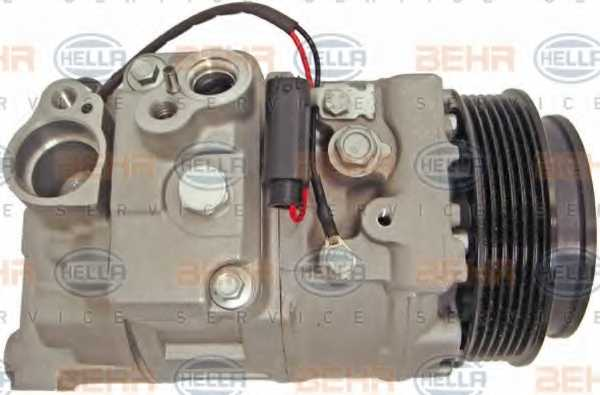 Компрессор кондиционера для MERCEDES GL(X164), M(W164), R(V251,W251) <b>HELLA BEHR SERVICE Version ALTERNATIVE 8FK 351 340-901</b> - изображение 3