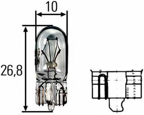 Лампа накаливания HELLA 8GA 008 901-241 - изображение
