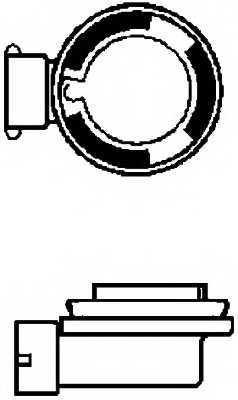 Лампа накаливания H9 12В 65Вт HELLA 8GH 008 357-001 - изображение 1