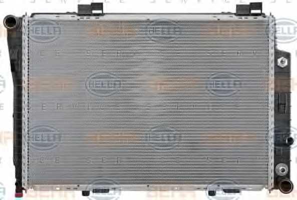 Радиатор охлаждения двигателя HELLA 8MK 376 711-191 - изображение 1