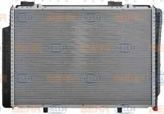 Радиатор охлаждения двигателя HELLA 8MK 376 711-191 - изображение 4