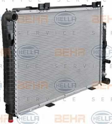Радиатор охлаждения двигателя HELLA 8MK 376 711-191 - изображение 5