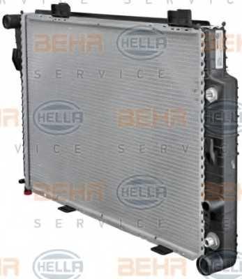 Радиатор охлаждения двигателя HELLA 8MK 376 711-191 - изображение 6