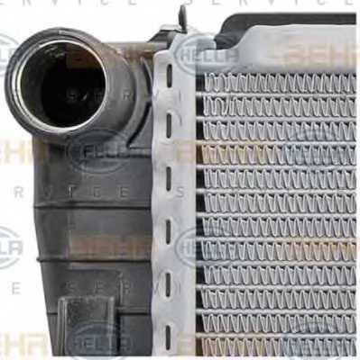 Радиатор охлаждения двигателя HELLA 8MK 376 711-191 - изображение 7