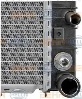 Радиатор охлаждения двигателя HELLA 8MK 376 711-191 - изображение 8