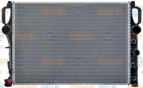 Радиатор охлаждения двигателя HELLA 8MK 376 718-021 - изображение 1