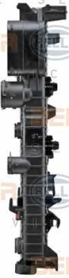 Радиатор охлаждения двигателя HELLA 8MK 376 718-021 - изображение 2