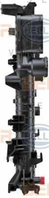 Радиатор охлаждения двигателя HELLA 8MK 376 718-021 - изображение 3
