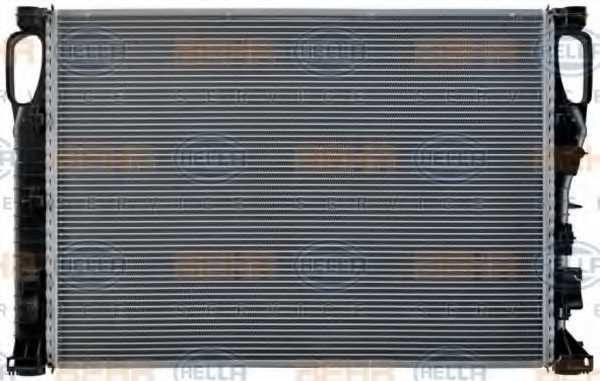 Радиатор охлаждения двигателя HELLA 8MK 376 718-021 - изображение 4