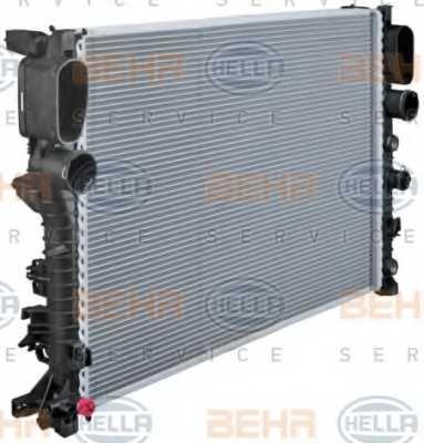 Радиатор охлаждения двигателя HELLA 8MK 376 718-021 - изображение 5