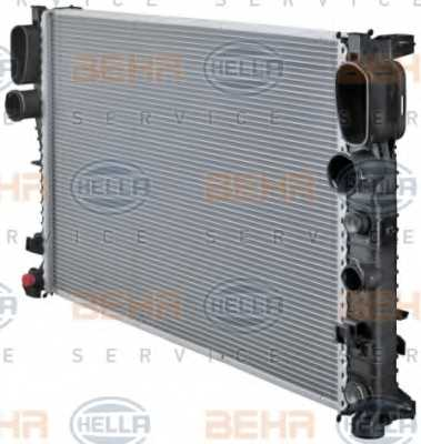 Радиатор охлаждения двигателя HELLA 8MK 376 718-021 - изображение 6