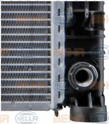 Радиатор охлаждения двигателя HELLA 8MK 376 718-021 - изображение 9